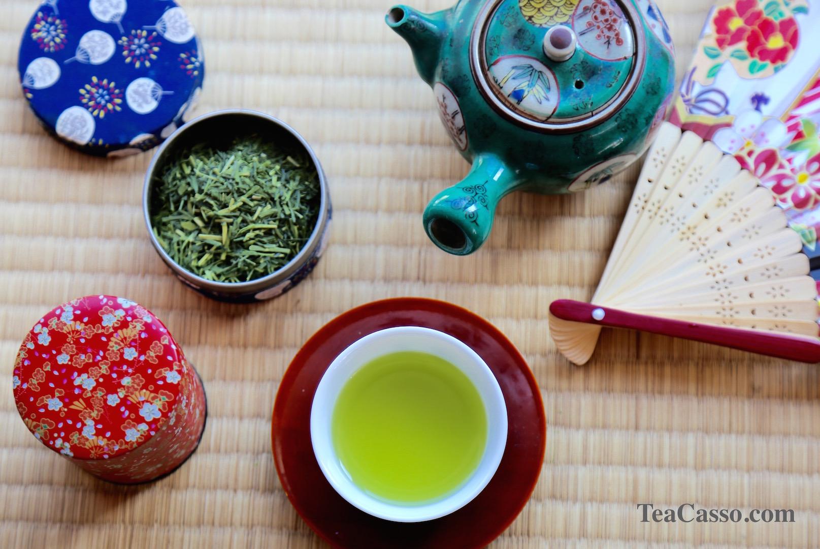 Зеленый чай из Японии